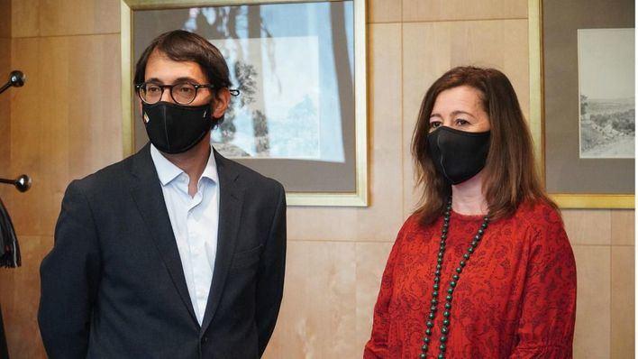 Armengol prosigue este viernes su periplo en Madrid, donde se reunirá con la ministra de Turismo