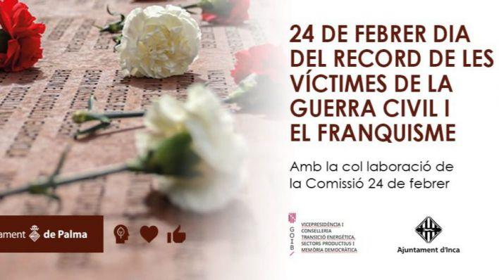 Cort se suma a los actos del 'Dia de recuerdo a las víctimas de la Guerra Civil y el Franquismo'