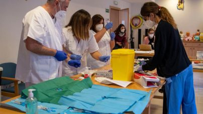 Baleares prepara locales para vacunar 80.000 personas por semana