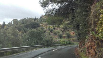 Activada la alerta amarilla por fuertes vientos en la Serra