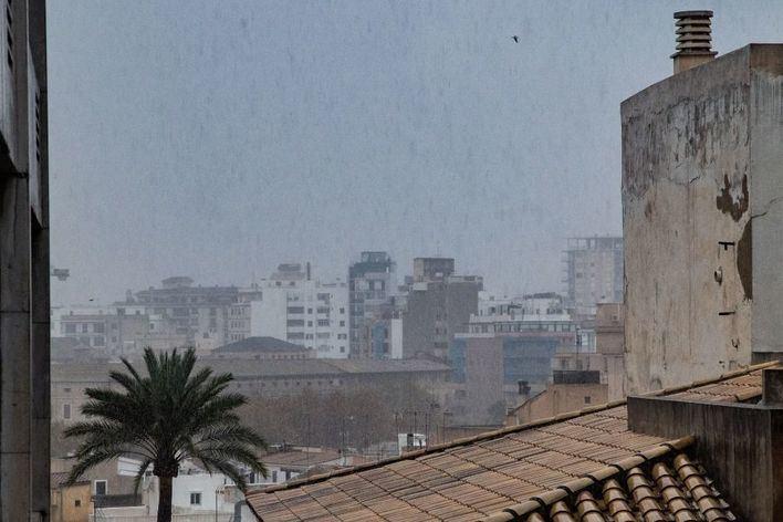 Precipitaciones ocasionales acompañadas de barro en Baleares