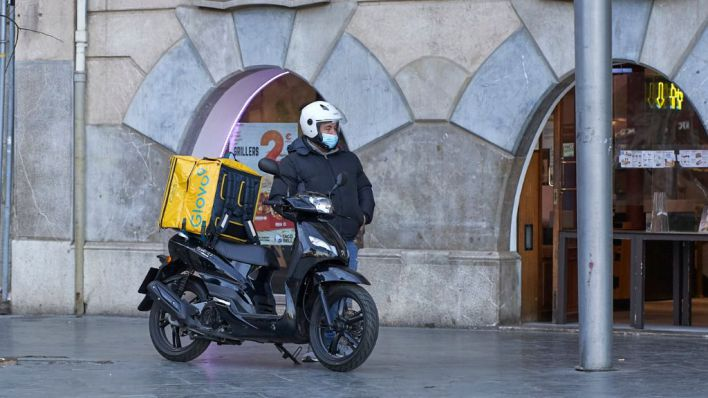 Detenido por asaltar a un repartidor de comida en Ibiza