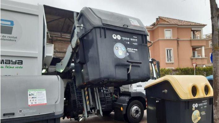 La limpieza y mantenimiento de los contenedores de Palma se hará dos veces al año