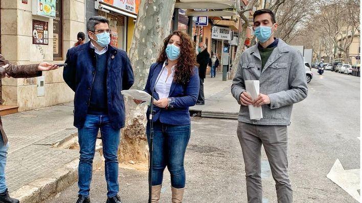 Cort modifica el alumbrado, aceras y asfalto en 20 calles de Pere Garau