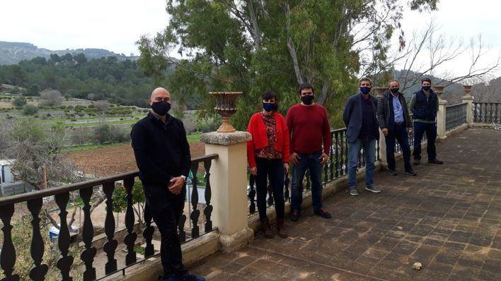 Amadip Esment inicia la gestión de la finca pública de Galatzó en Calvià