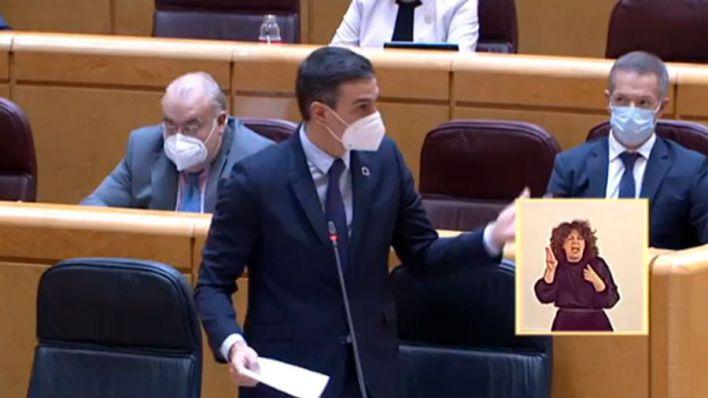Sánchez reitera su intención de tener vacunada al 70 por ciento de la población