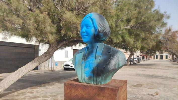 Inician los trabajos de restauración del busto de Aurora Picornell