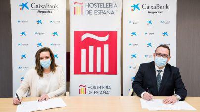 CaixaBank se incorpora al Club de Hostelería de España para colaborar en el impulso de la restauración