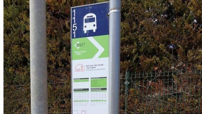 La EMT introduce mejoras en el transporte a demanda de la zona de Son Gual