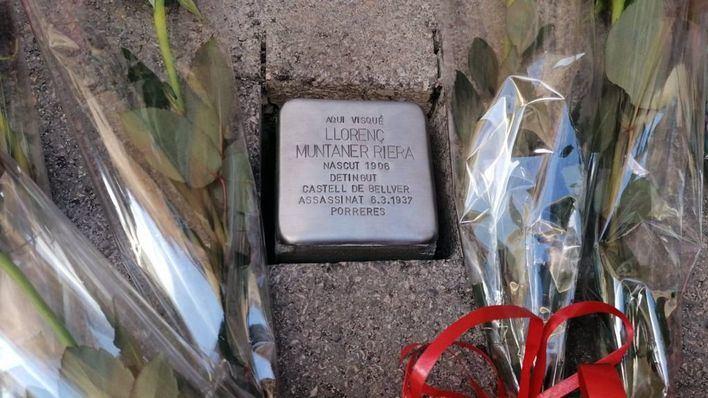 Comienza en Artà la instalación de las piedras de la memoria democrática