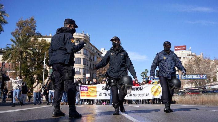 Delegación de Gobierno autoriza la manifestación del lunes organizada por La Resistencia