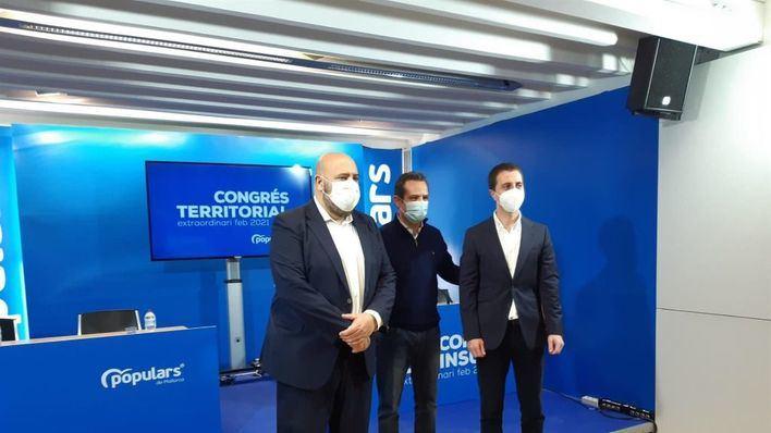 Apoyo incontestable a Jaime Martínez y Llorenç Galmés como presidentes del PP de Palma y Mallorca