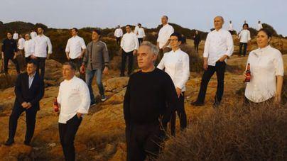Compromiso de los grandes chefs para relanzar la restauración en la nueva campaña de Damm