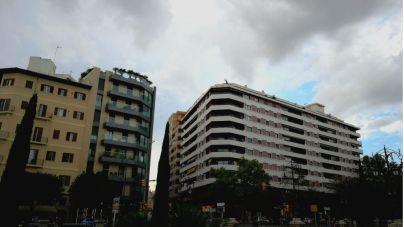 Intervalos nubosos y polvo en suspensión en Mallorca