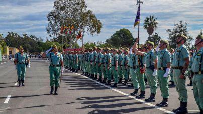 Condena de un año de cárcel por deserción para un legionario detenido dos veces en Mallorca
