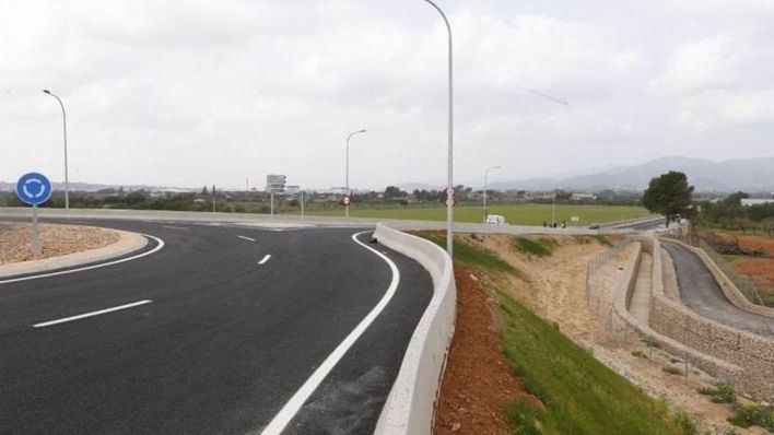Abren al tráfico el acceso a los polígonos de Santa Maria y Consell