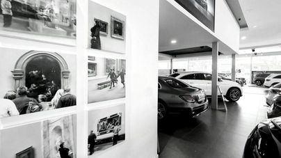 Autovidal acoge Ad Museum, una exposición de pinturas de Girbent