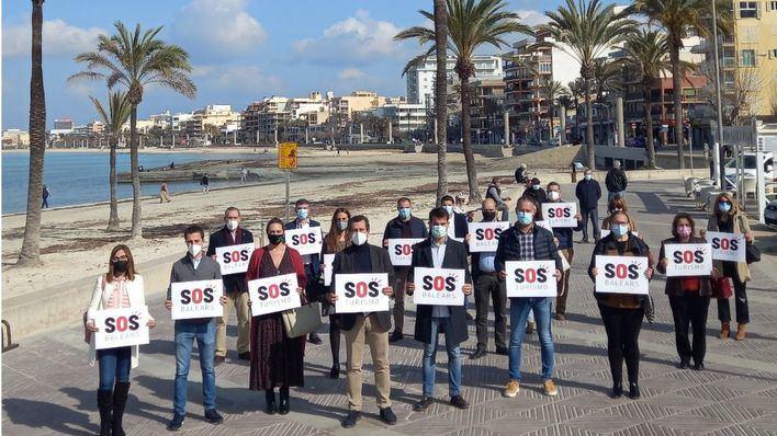 El PP presentará iniciativas de apoyo a SOS Turismo en todas las instituciones públicas