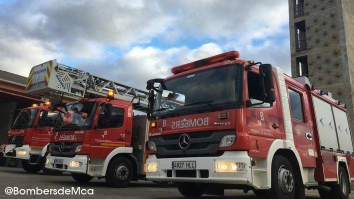 Evacúan el instituto de Santanyí a causa de un incendio declarado en el sótano
