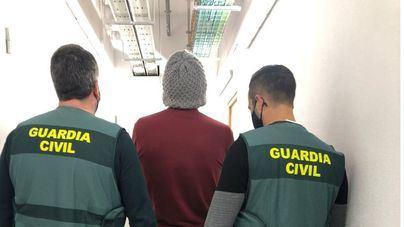 La Guardia Civil detiene a un violento delincuente tras robar en varios hoteles