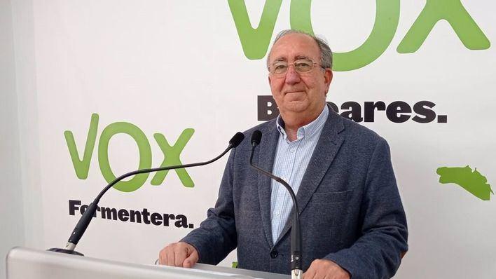 El vicesecretario de Organización de Vox Baleares, Agustín Buades