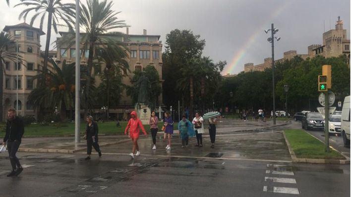 Mallorca, Ibiza y Formentera en aviso por lluvias intensas