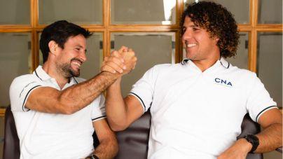 Los regatistas del CNA, Sergi Escandell y Joan Carles Cardona, luchan por la plaza olímpica en RS:X