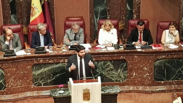 Ciudadanos abandona al PP y se alía con el PSOE para presentar una moción de censura en Murcia
