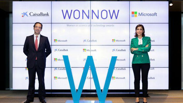 CaixaBank y Microsoft premian a las mejores estudiantes de ciencia y tecnología