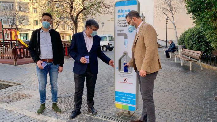 Cort instala otras 11 fuentes agua potable