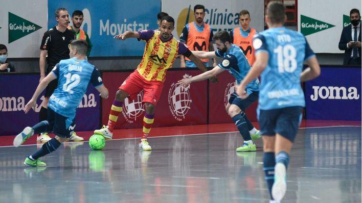 La falta de acierto pasa factura al Palma Futsal frente al Movistar Inter (3-1)