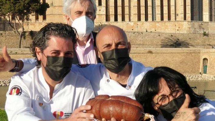 Sobrasada de Mallorca y la Selección Española de Cocina de Competición, en la presentación de la ´Selección Española de Cocina Junior`