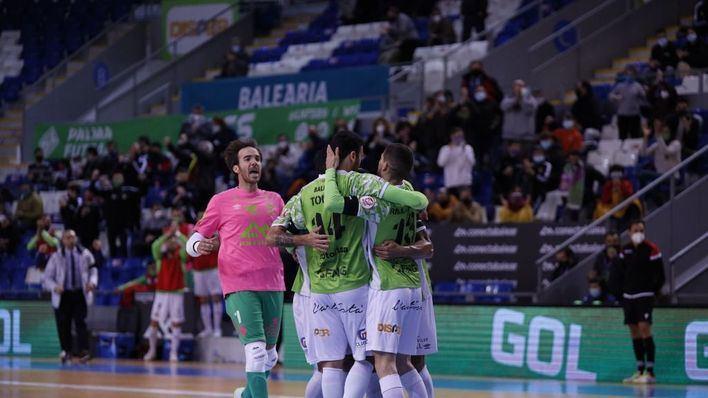 Tomaz activa al Palma Futsal con una victoria por la mínima (1-0)