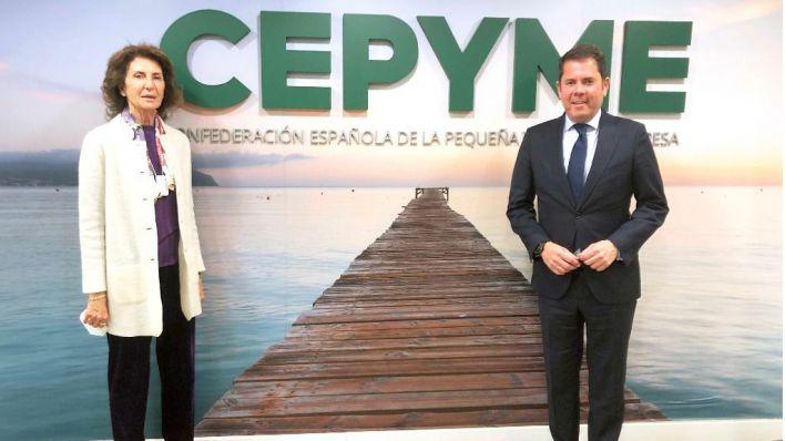 Planas, nombrada vicepresidenta de la Confederación Española de la Pequeña y Mediana Empresa