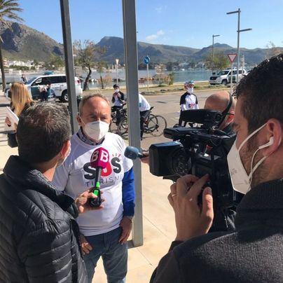 Vacunas y ayudas: el sector turístico del norte de Mallorca lanza un SOS sobre ruedas