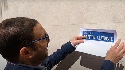 José Hila (bis) pone calles a Pérez Reverte en Palma