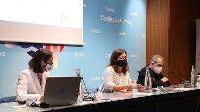 Maroto pone punto y final a su periplo en Baleares reuniéndose con el sector empresarial