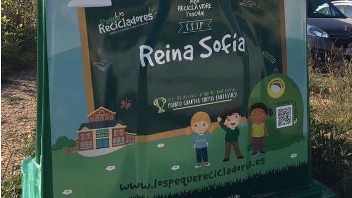 Tres centros educativos de Felanitx participan en una campaña para fomentar el reciclaje de vidrio