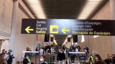 De los 8.047 viajeros extranjeros llegados a Palma desde el lunes, 145 no traían una PCR negativa