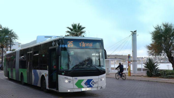 Más frecuencias de las líneas que conectan Palma con el aeropuerto y Playa de Palma