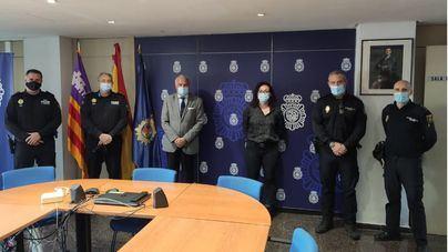 Policía Local y Nacional refuerzan su mutua colaboración en Palma