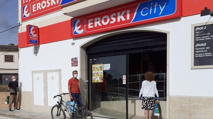 El checo EP entra como socio financiero de Eroski en Cataluña y Baleares