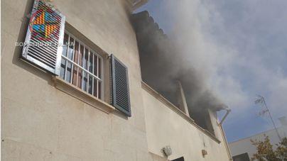 Incendio en un centro de menores del IMAS en El Vivero