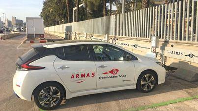 Naviera Armas Trasmediterránea instala 12 puntos de recarga eléctrica en su terminal del Puerto de Barcelona