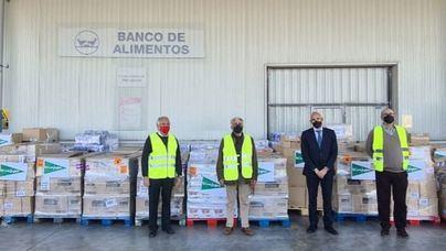 El Corte Inglés entrega 18.182 euros en productos de primera necesidad al Banco de Alimentos