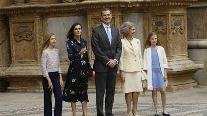Los Reyes no viajarán a Mallorca para asistir a la misa del Domingo de Pascua