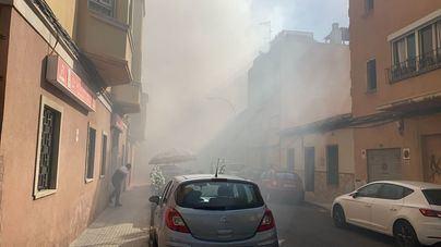 Dos heridos, uno de ellos de gravedad, en el incendio de una vivienda en La Soledat Nord