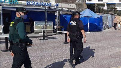 Intensa vigilancia policial en Baleares para que se cumpla la normativa Covid en Semana Santa