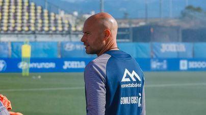 El técnico del Atlético Baleares, Xavi Calm, dispone de toda la plantilla ante el Don Benito