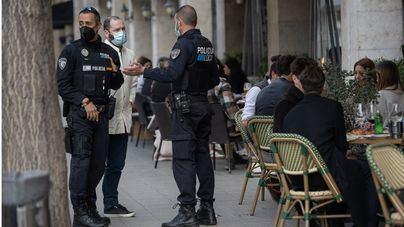El dispositivo policial de Semana Santa levanta 270 actas y cierra un bar en Palma